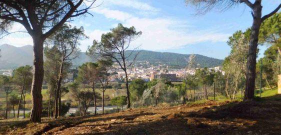 Franja de protecció contra incendis (Argentona)